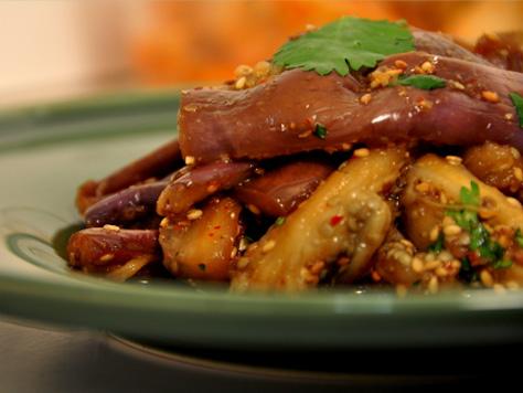 Eggplant namul korean food gallery discover korean food recipes eggplant namul forumfinder Gallery