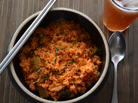 Vegetarian kimchi fried rice korean food gallery discover korean vegetarian kimchi fried rice forumfinder Gallery