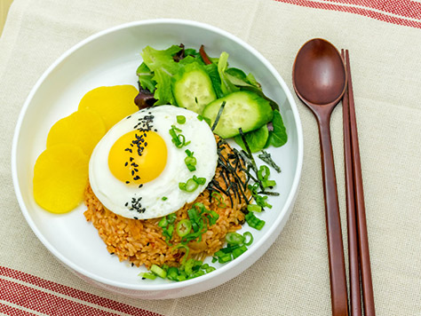 Korean food gallery discover korean food recipes and inspiring bacon kimchi fried rice forumfinder Images