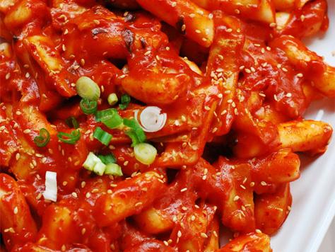 Korean Spicy Fish Cake