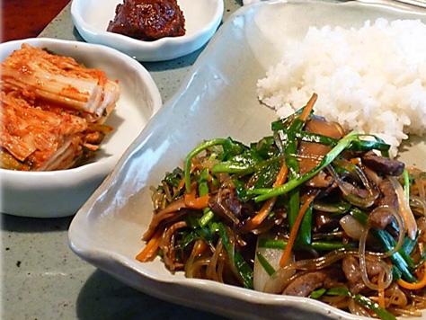 Japchae korean food gallery discover korean food recipes and japchae forumfinder Gallery