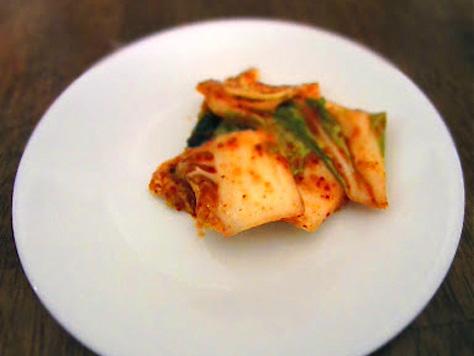 ... favorite quick cucumber kimchi put the kimchi into a quick kimchi