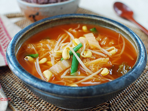 Kimchi korean food gallery discover korean food recipes and kimchi kongamul guk forumfinder Choice Image