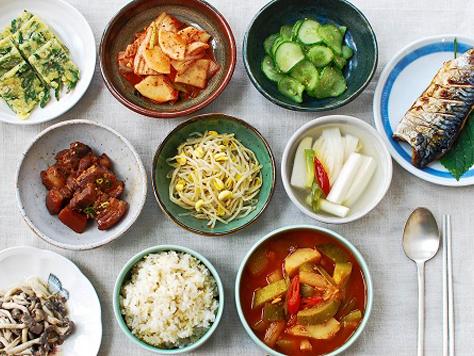 Banchan korean food gallery discover korean food recipes and korean bapsang table forumfinder Images