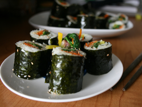 Kids kimbap korean food gallery discover korean food healthy pretty and delicious forumfinder Choice Image