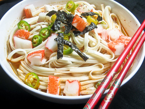 Wheat Noodles In Spicy Broth